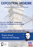 EXPOSITION FRANZ STOCK A PARIS.